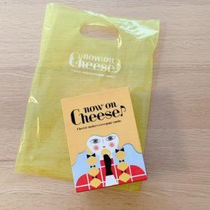 ナウオンチーズの外箱と小分け袋