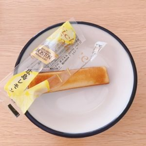 広島レモンスティックケーキ中身
