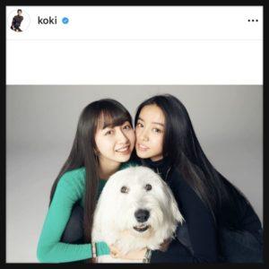 Cocomiとkokiの姉妹写真