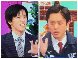 あいのり横粂勝仁と吉村知事比較画像