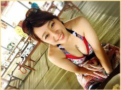 中冨杏子の水着画像がかわいい