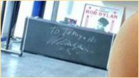 キムタク自宅トレーニングルームにあるサインは誰からのもの?