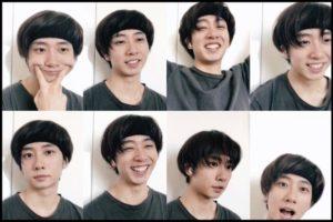 中村海人の髪型